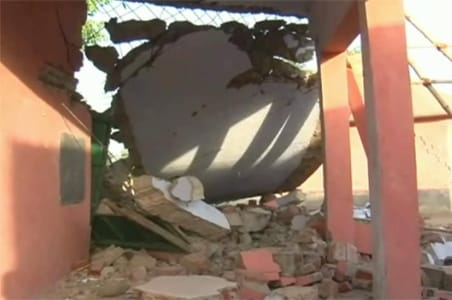 Bihar: Naxals blow up school in Aurangabad