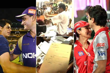 Nationwide IPL crackdown, SRK, Preity teams feel the heat
