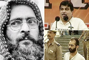 Afzal Guru being treated like Cong's son-in-law: Nitin Gadkari
