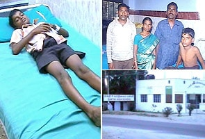 Student in hospital after alleged beating by principal