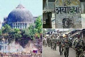 Ayodhya verdict on September 24
