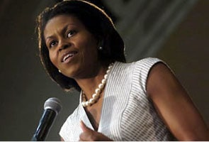 Michelle Obama tops Forbes powerful women list