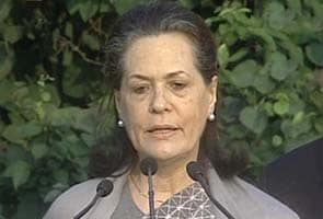 India's moral universe is shrinking, says Sonia Gandhi