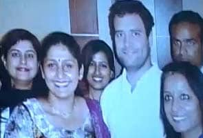Rahul Gandhi delights Lucknow kitty party