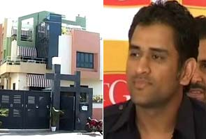 Robbery at Dhoni's home in Ranchi
