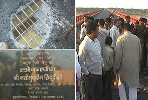 Rs 640 crore bridge develops crack in just 13 days