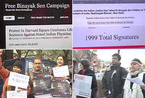 After life sentence, worldwide support for activist Binayak Sen