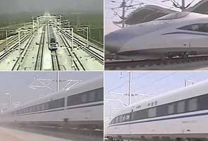 China's newest high-speed train breaks world record