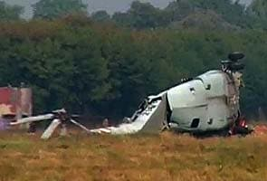 IAF helicopter crashes in Jammu, all safe
