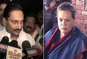 Kiran Reddy meets Sonia, discusses Telangana