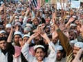 In Pak, blasphemy law supporters on the streets