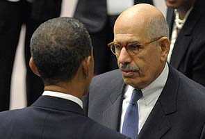 US scrambles to size up ElBaradei