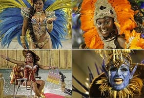 Brazil ushers in the annual Rio carnival