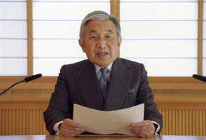 Japan Emperor delivers rare address