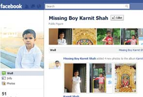 Mumbai father turns to Facebook to find kidnapped child