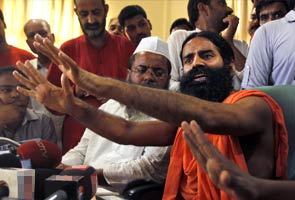 Defiant Baba Ramdev targets Sonia Gandhi, will continue campaign in Haridwar