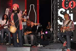 Now playing: Coke Studio, India
