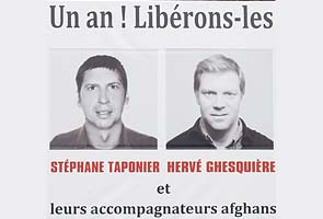 French journalists freed in Afghanistan after 16 months