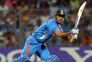 Dhoni's World Cup bat auctioned for Rs 72 lakhs for wife's charitable trust