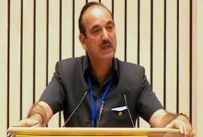 Ghulam Nabi Azad calls homosexuality 'unnatural' and a 'disease'