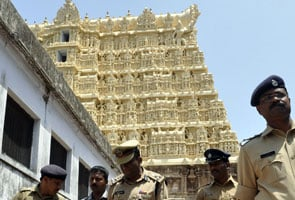 New security for Rs 90,000 crore temple treasure