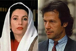 Imran Khan denies affair with Benazir in new biography