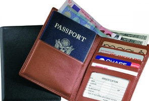 Man with fake passport arrested