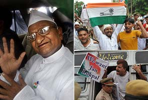 Anna Hazare refuses to leave Tihar Jail, says allow fast at JP Park