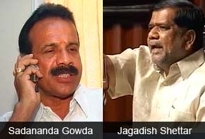 Sadananda Gowda named new Chief Minister of Karnataka