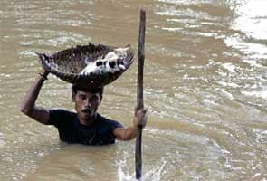 Orissa floods: 2,600 villages submerged, 11 lakh affected