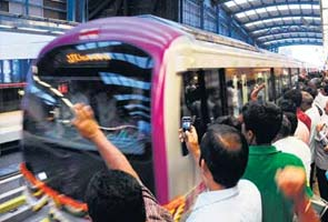 Bangalore Metro: Love at first sight!
