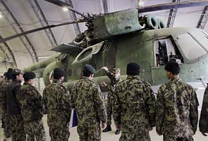Afghan air force learns to fly and fix aircraft