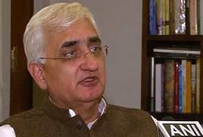 Salman Khurshid in trouble over Muslim quota speech