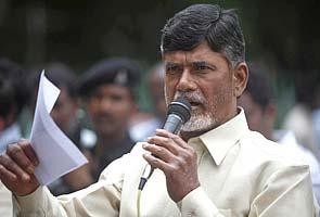 Naidu begins 'padayatra' amidst protests