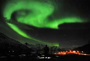 Solar storm sparks dazzling northern lights
