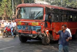 Pune man 'steals' bus, hits 40 vehicles, 9 dead and 30 injured