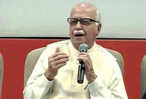 Khurshid's remarks unprecedented, happy poll panel acted strongly: Advani