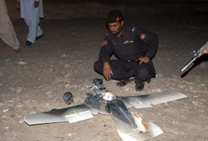 US drone crashes in Pakistan