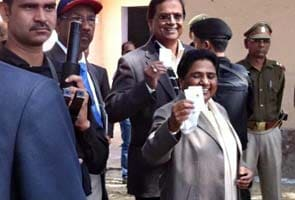 UP polls: 57 per cent polling recorded in state
