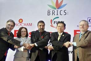 BRICS summit defends dialogue for Syria, Iran