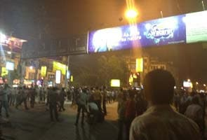 Protests in Park Circus in Kolkata blocks traffic for six hours