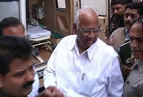 Sharad Pawar faints in Lok Sabha, discharged from hospital