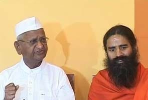 Anna Hazare, Baba Ramdev to fast on June 3