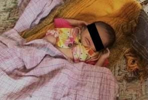 Baby girl found abandoned at Haryana bus stop