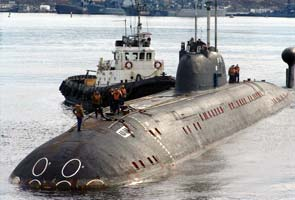 Nuclear-powered submarine INS Chakra joins Indian Navy