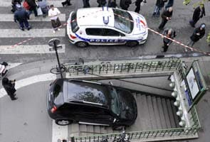 In search of parking in Paris, man drives car down Metro stairs