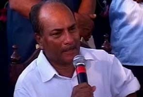 Communal remarks by senior leaders led to Congress' UP poll debacle: Antony panel