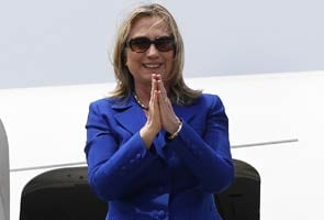 All-South Indian breakfast for Hillary in Delhi