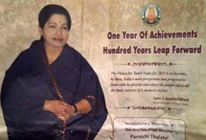 25 crores spent on Brand Jayalalithaa with ads
