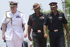 Prince Andrew visits Officers' Training Academy in Chennai
